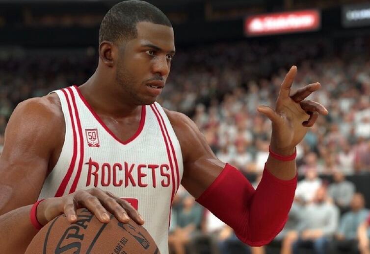 NBA2K18克里斯-保罗能力值上90 连续11年风采依旧