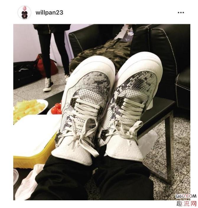 """""""球鞋控""""潘玮柏上脚过哪些神级球鞋 潘玮柏最喜欢的球鞋是哪一款"""