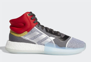 "Marvel x adidas Marquee Boost Mid""Thor""即将发售 阿迪漫威联名雷神鞋款实物赏析"