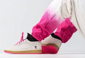 超限量Sneaker Politics x AJ1 low hyper pink发售信息 Sneaker Politics x AJ1 low实物图赏析