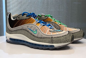 air max 98纽约主题限定发售信息 Nike Air Max 98 La Mezcla实物图赏析