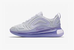 "Nike Air Max 720 ""Oxygen Purple"" 即将发售 Max720新配色实物赏析"