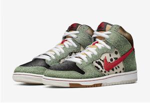 "Nike SB Dunk High ""Dog Walker"" 即将发售 Dunk SB 遛狗配色实物赏析"