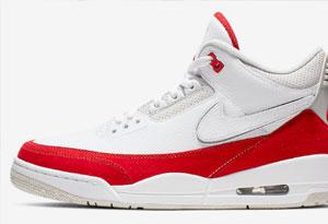 Air Jordan 3白红手稿发售信息 Air Jordan 3白红手稿实物欣赏