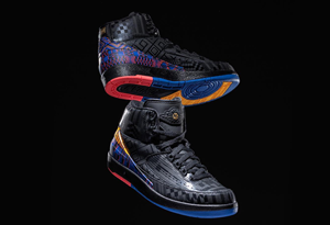 "AJ2黑人月发售时间确定 Air Jordan 2 ""BHM""实物细节欣赏"