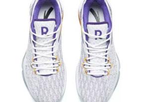 安踏隆多5代紫金湖人配色谍照 隆多rr5 Lakers发售信息