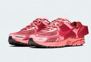 ACW x Nike Vomero 5红色发售信息 NIKE Vomero 5联名款红色版实物赏析