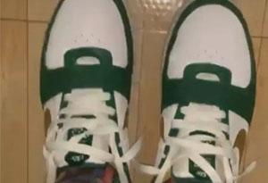 詹姆斯上脚LeBron6绿金配色鞋款 LeBron 6会在2019年复刻回归吗