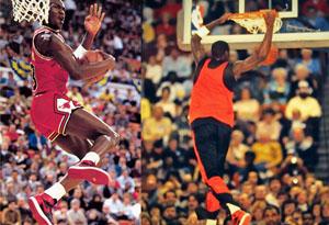 """乔丹扣碎篮板穿的不是AJ1""""扣碎"""" AJ1""""黑脚趾""""其实不是AJ1"""