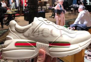 gucci老爹鞋真假对比图2019 古奇老爹鞋正品和仿品的区别
