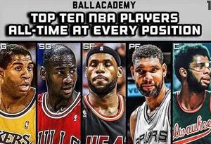 美媒排出10套NBA历史巨星阵容 NBA历史巨星阵容哪一套最强
