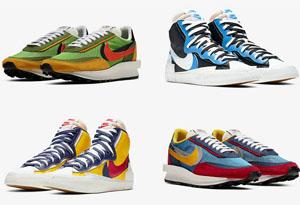 Sacai x Nike 联名鞋款再度跳票 发售计划无限延期