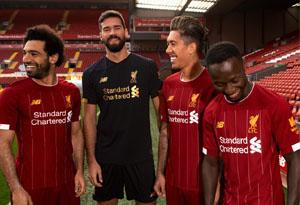 NB推出利物浦主场球衣即将发售 新百伦利物浦球衣实物赏析