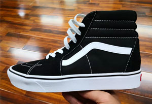 Vans Sk8-Hi COMFYCUSH开箱测评 Vans的鞋底很硬吗