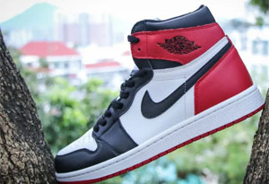 Air Jordan 1 黑脚趾怎么区别真假 Air Jordan 1 黑脚趾真假对比