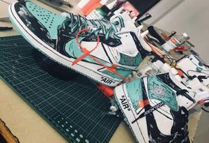 """如何DIY自己的篮球鞋 打造属于自己的""""超限量""""球鞋"""