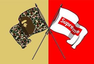 bape和supreme哪个好 bape和supreme哪个档次高