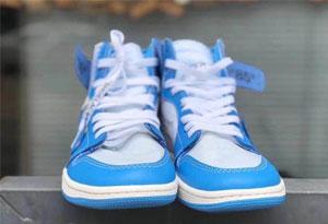 AJ1 ow 北卡蓝鞋带怎么系 OW联名AJ1北卡蓝鞋带系法推荐
