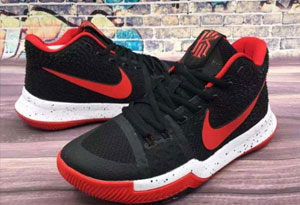 KYRIE3篮球鞋真假对比 欧文3篮球鞋鉴定方法