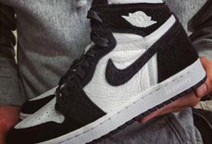 Air Jordan 1黑白熊猫发售信息 Air Jordan 1黑白熊猫实物欣赏