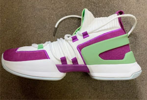 无中生有篮球鞋白紫配色开箱测评 equalizer无中生有篮球鞋在哪买