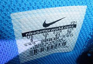 Nike球鞋怎么鉴定 耐克各系列球鞋鉴定方法