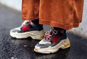 巴黎世家老爹鞋真假对比 Balenciaga Triple-S鉴定方法