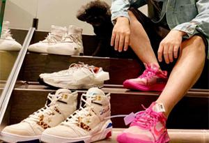 周杰伦晒过的球鞋有哪些 周杰伦上脚球鞋盘点