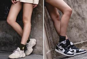 yeezy老爹鞋与AJ1如何穿搭好看 女生穿yeezy老爹鞋和AJ1哪个更好看