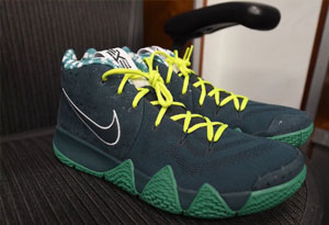 """Concepts x Kyrie 4 """"Green Lobster""""什么时候发售 Concepts x Kyrie 4 """"Green Lobster""""上脚图"""