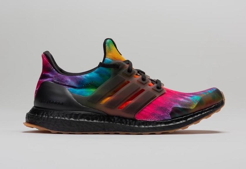 "耐克发布adidas Ultra Boost Woodstock黑色扎染FU9164发å"":registered:日期"