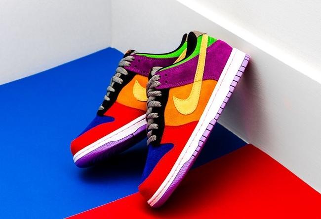 "Nike Dunk Low SP ""Viotech""12月10日正式发售"