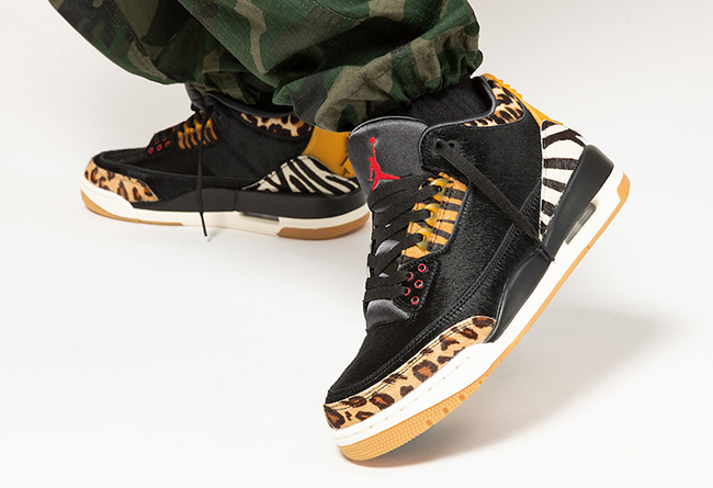 "Air Jordan 3 SP ""Animal Pack""12月19发售"