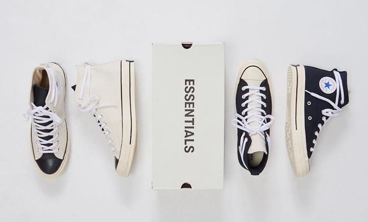 Fear of God,Essentials,Convers  独特鞋帮设计!ESSENTIALS x Converse 全新联名今日发售!