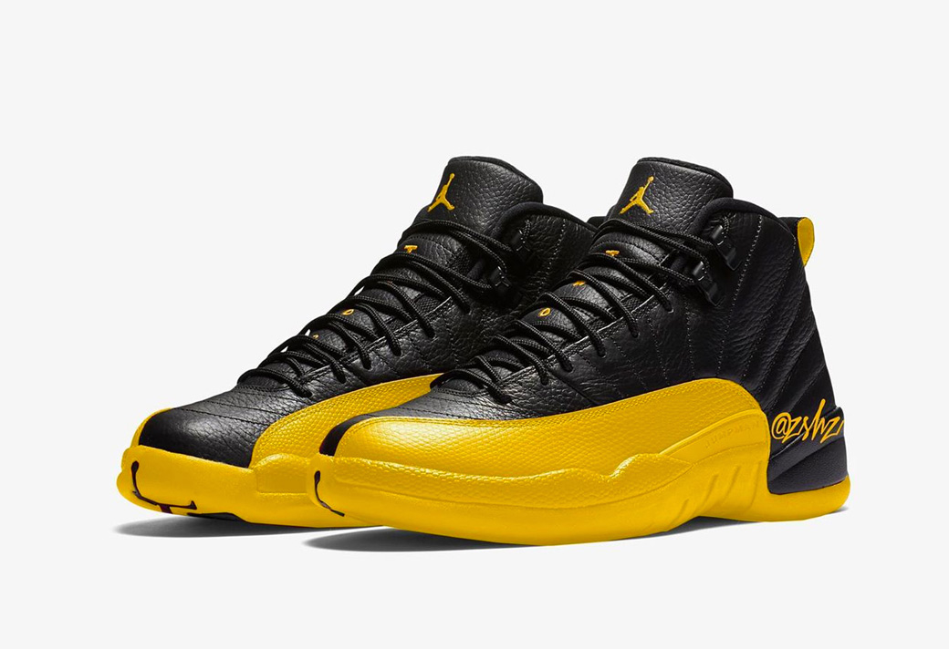"Air Jordan 12 ""University Gold""明年发售"