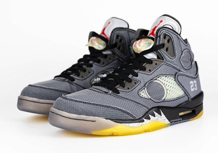 Off-White x Air Jordan 5明年2月发售