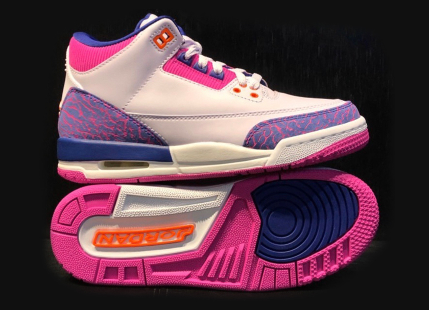 GS版本Air Jordan3配色在网上曝光