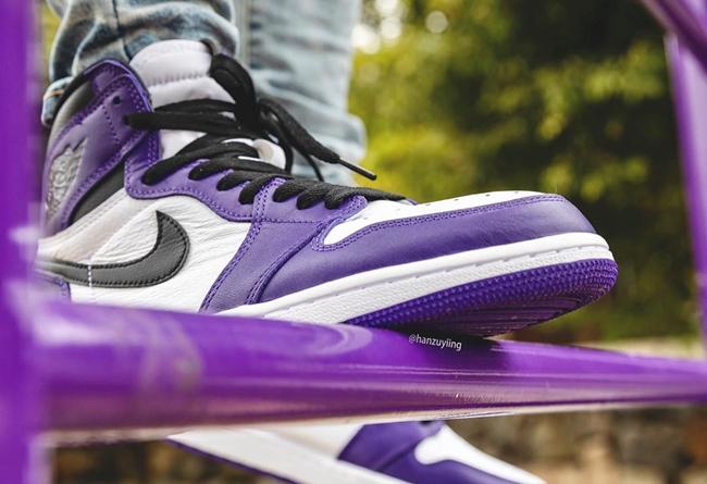 """Air Jordan 1 High OG """"Court Purple""""2020年4月4发售"""