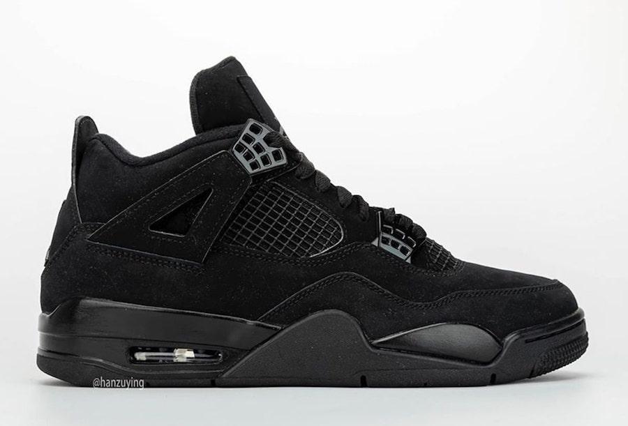AJ4,Air Jordan 4,CU1110-010,发售  黑猫 Air Jordan 4 发售提前!你的新年第一双会是它吗?