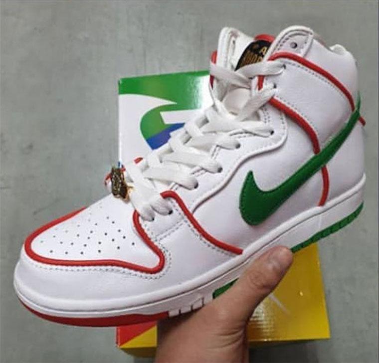 Paul Rodriguez x Nike SB Dunk High 联名谍照