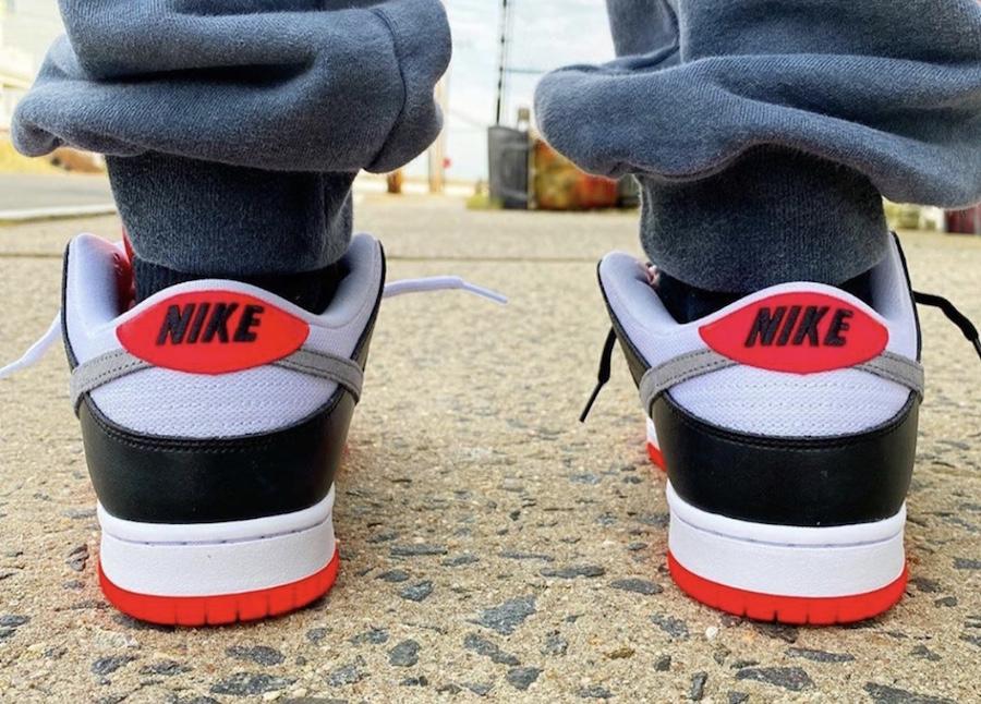 Nike,Dunk SB Low,CD2563-004,发售  2020 注定是 Dunk 年!红外线 Dunk SB Low 上脚图抢先看!