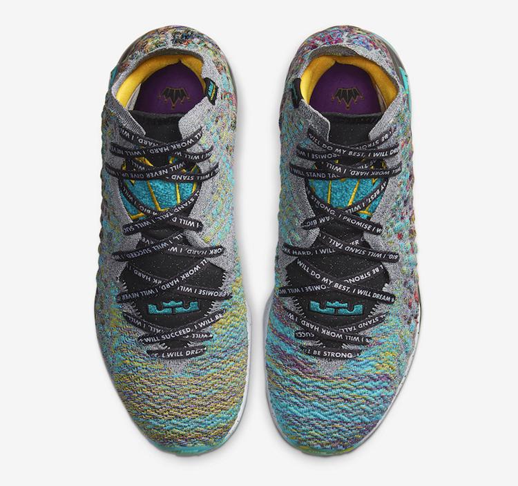 "Nike,LeBron 17,I Promise,CD505  鞋舌双皇冠造型!全新 LeBron 17 ""I Promise"" 本月即将发售!"