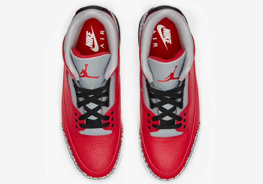 AJ3,Air Jordan 3,CK5692-600,发售  全明星主题,天价联名气质!「红水泥」AJ3 最新实物图释出!