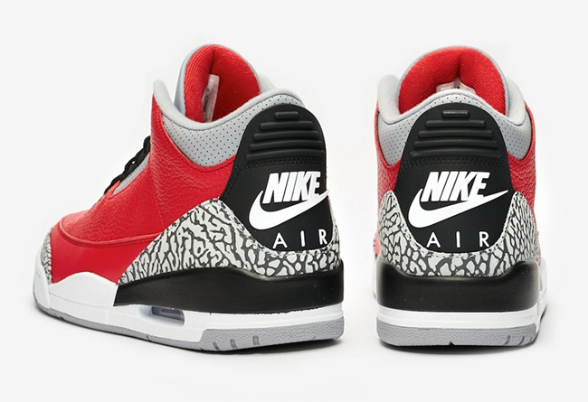 "Air Jordan 3 SE ""Red Cement""谍照及发售日期"