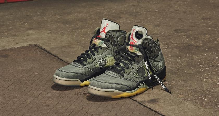 Off-White x Air Jordan 5明日发售