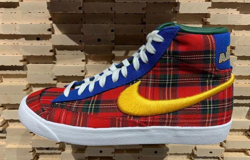 "Nike Blazer Mid '77 Vintage""Coming to America""谍照"