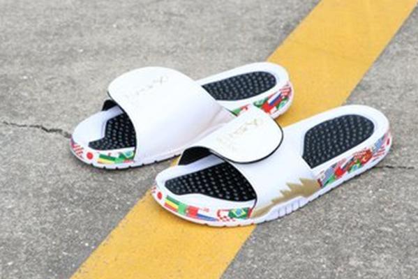 aj拖鞋码数怎么买 aj拖鞋能不能碰水