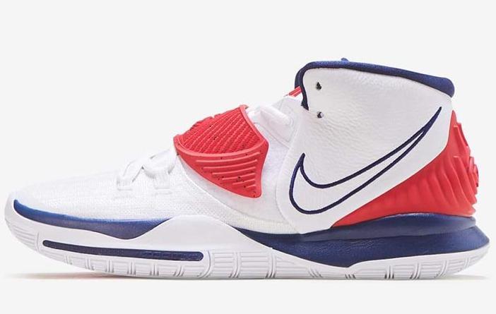 "Nike Kyrie 6 ""USA""发售日期及价格"