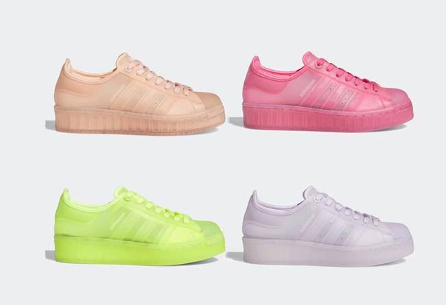 果冻adidas Superstar Jelly发售日期价格