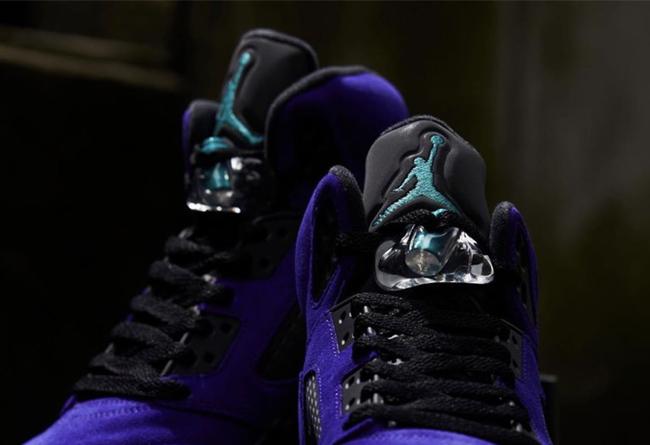 "Air Jordan 5 ""Alternate Grape""发售日期价格"